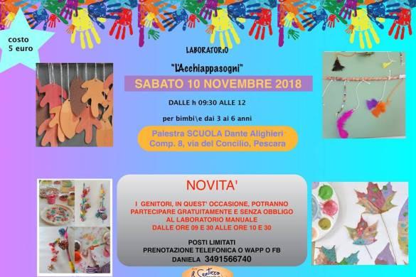 Laboratorio-creativo-Il-Sentiero- Eventi per bambini Pescara
