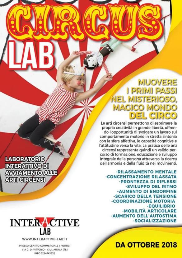 Laboratorio di Arti Circensi - Interactive Lab Giulianova - Teramo