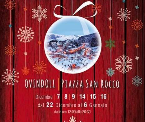 Mercatino-Artigianale-di-Natale-Ovindoli-LAquila - Cosa fare a Natale con i bambini in Abruzzo