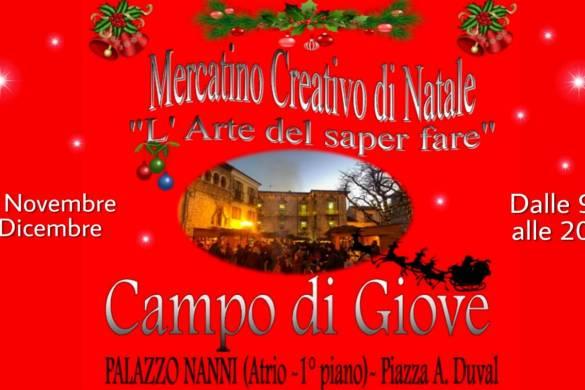 Mercatino-Creativo-di-Natale-Campo-di-Giove-LAquila - Cosa fare a Natale con i bambini in Abruzzo