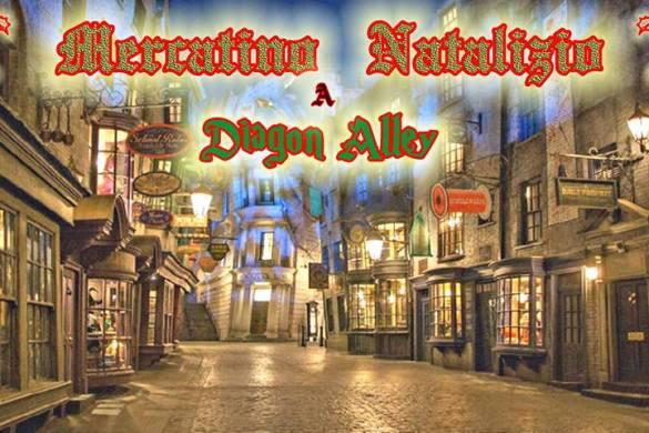 Mercatino-Natalizio-a-Diagon-Alley-Pescara- Cosa fare a Natale con i bambini in Abruzzo