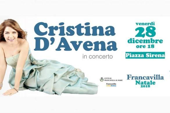 Cristina-dAvena-concerto-Francavilla-al-Mare-Chieti - Eventi per bambini in Abruzzo