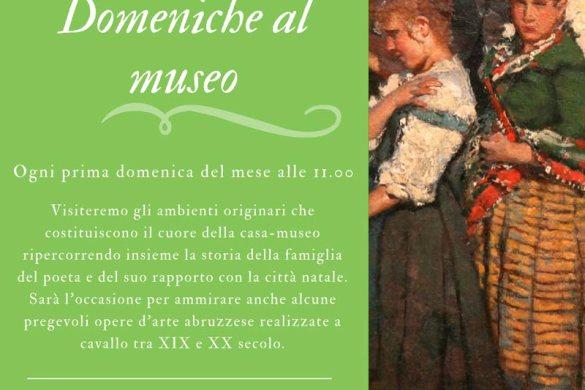 Domeniche-al-Museo-Casa-Natale-DAnnunzio-DadaAbruzzo-Pescara- Eventi per bambini in Abruzzo weekend 1 - 2 dicembre