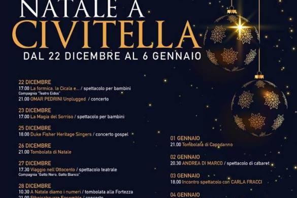 Natale-a-Civitella-del-Tronto-Teramo- Natale 2018 in Abruzzo