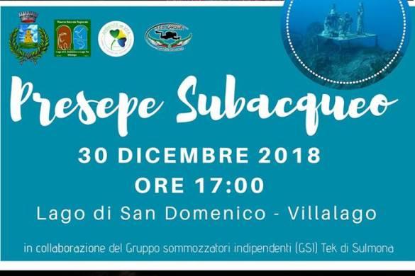 Presepe-Subacqueo-Villalago-L'Aquila - Presepi Viventi e Artistici in Abruzzo