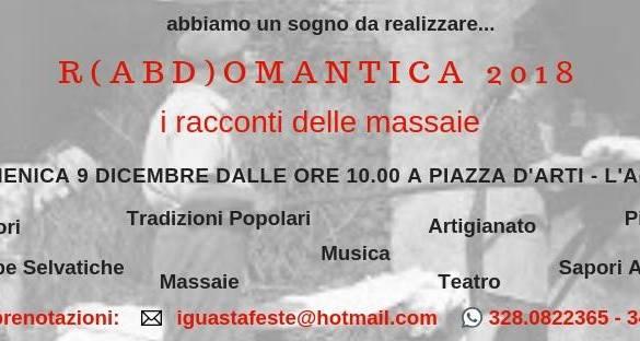 Rabdomantica-Piazza-dArti-L'Aquila - Eventi per bambini Abruzzo weekend 7 - 9 dicembre