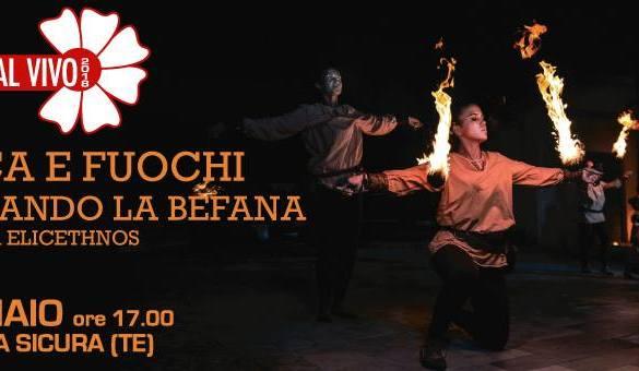 Musica-e-Fuochi-Aspettando-la-Befana-Torricella-Sicura-Teramo - Befana 2019 in Abruzzo