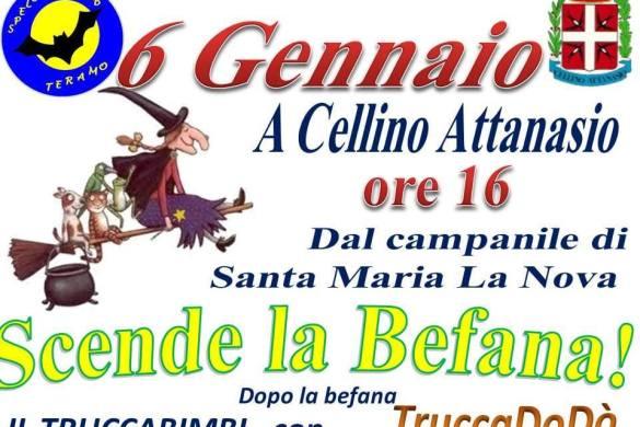 Scende-la-Befana-Cellino-Attanasio-Teramo - Befana 2019 in Abruzzo