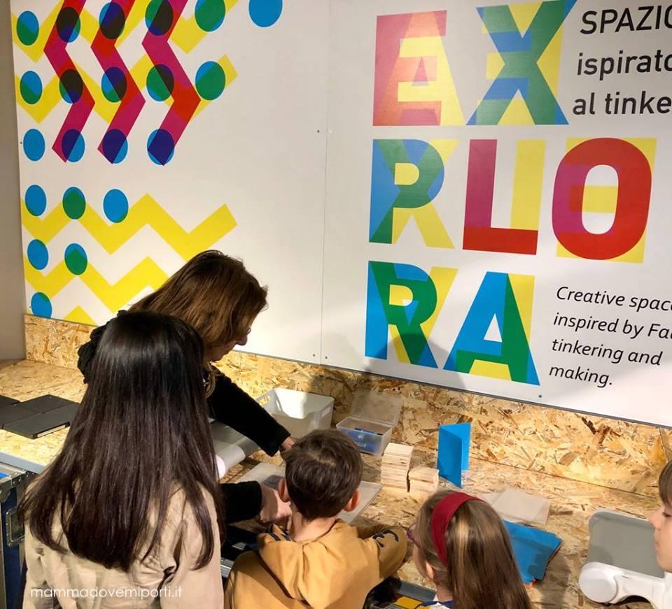 Made in Explora: nuova area laboratori di Explora il Museo dei Bambini di Roma