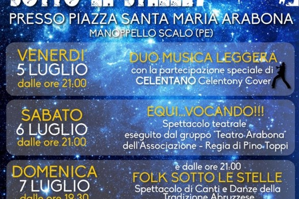 Arabona-sotto-le-stelle-Manoppello-Scalo-Pescara