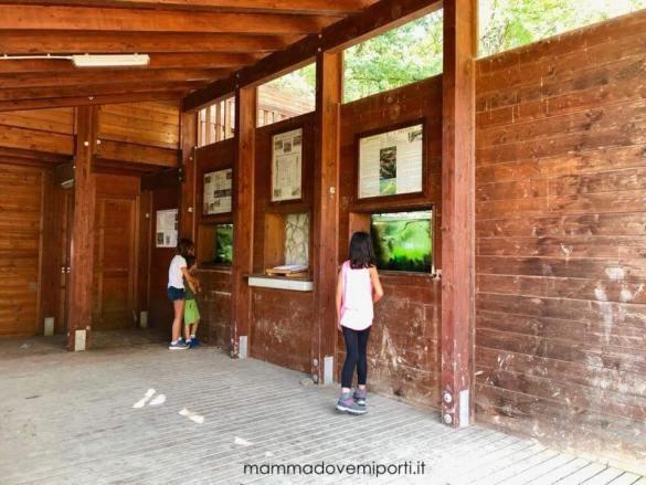 Aule didattiche della Riserva Naturale Castel Cerreto