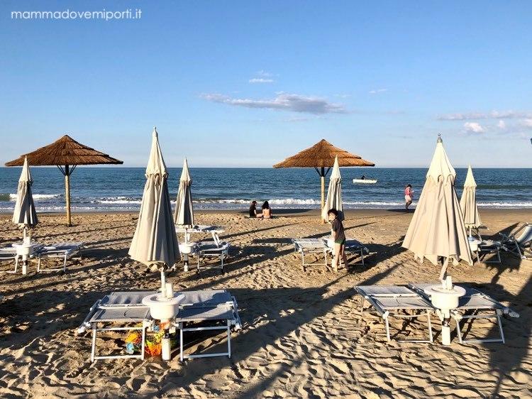 Mare in Abruzzo con bambini: Tortoreto la spiaggia