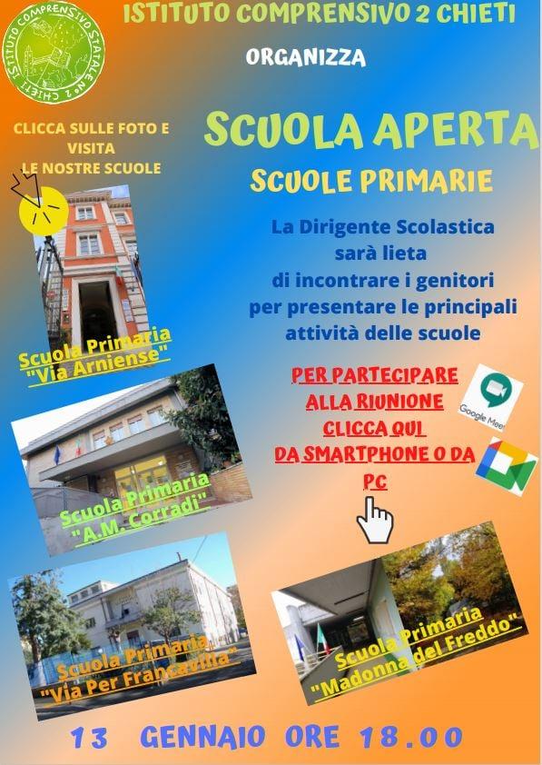 Open Day 2021 Scuole di Chieti Secondaria Istituto Comprensivo Chieti 2