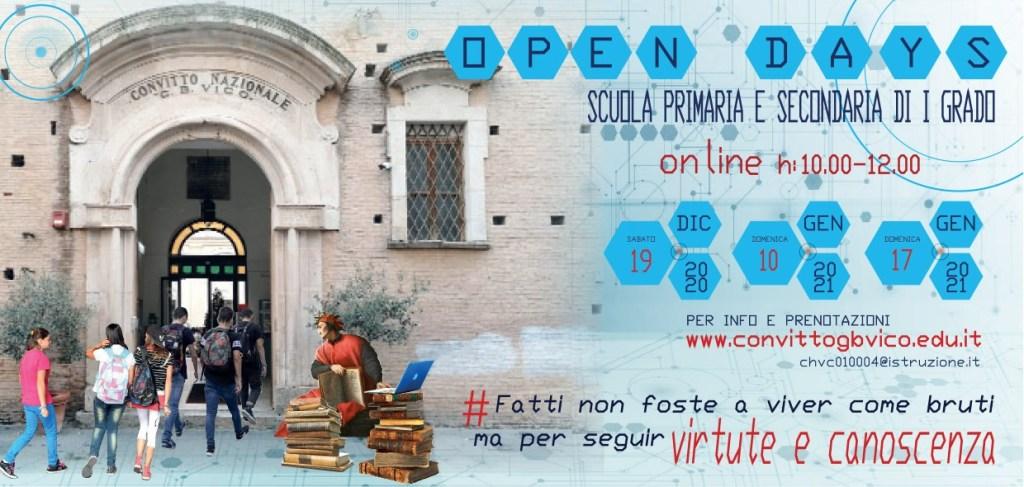 Open Day 2021 Scuole di Chieti Convitto De Vico