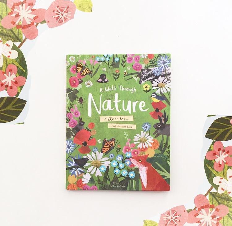 Cover photo of the beautiful book Walk Around Nature.