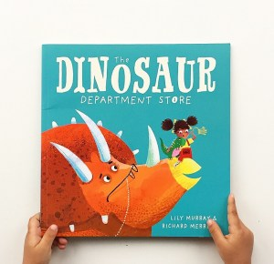 Cover of The Dinosaur Department Store.