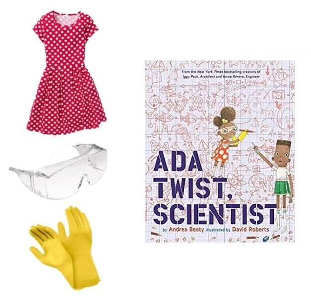 Ada Twist, Scientist costume ideas