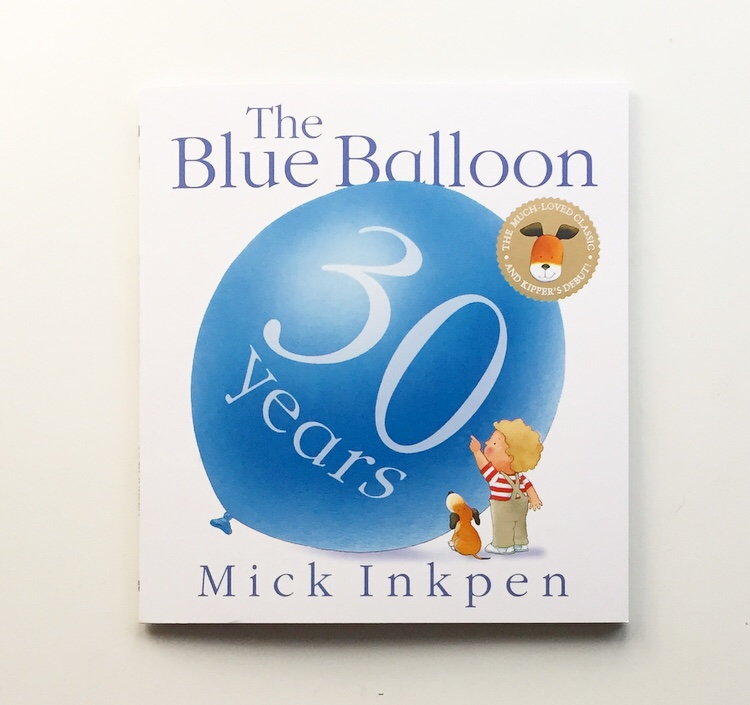 The Blue Balloon 30th anniversary edition book cover shot