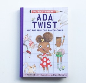Cover photo of chapter book Ada Twist and the Perilous Pantaloons