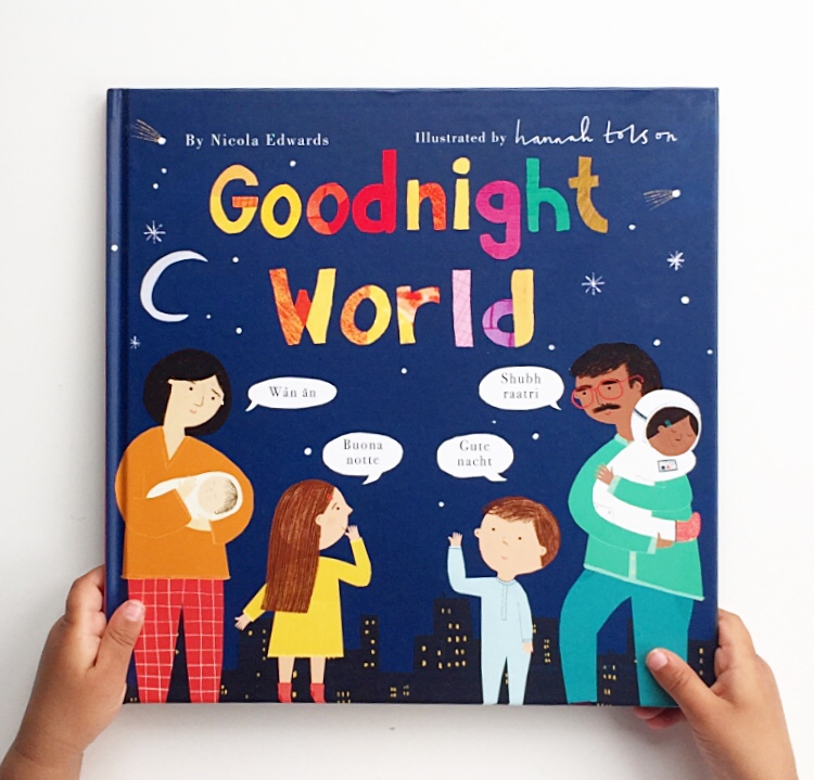 Cover shot of the book Goodnight world