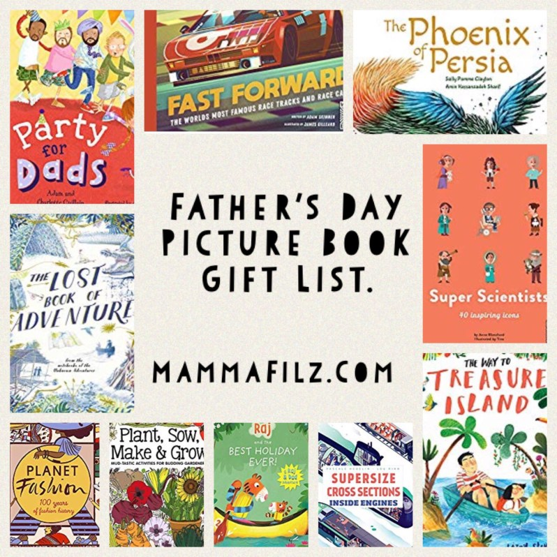 Father's Day book gift ideas on mammafilz.com