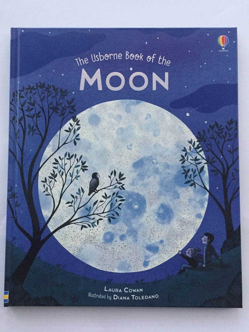 The Usborne Book of the Moon book review by mammafilz.com