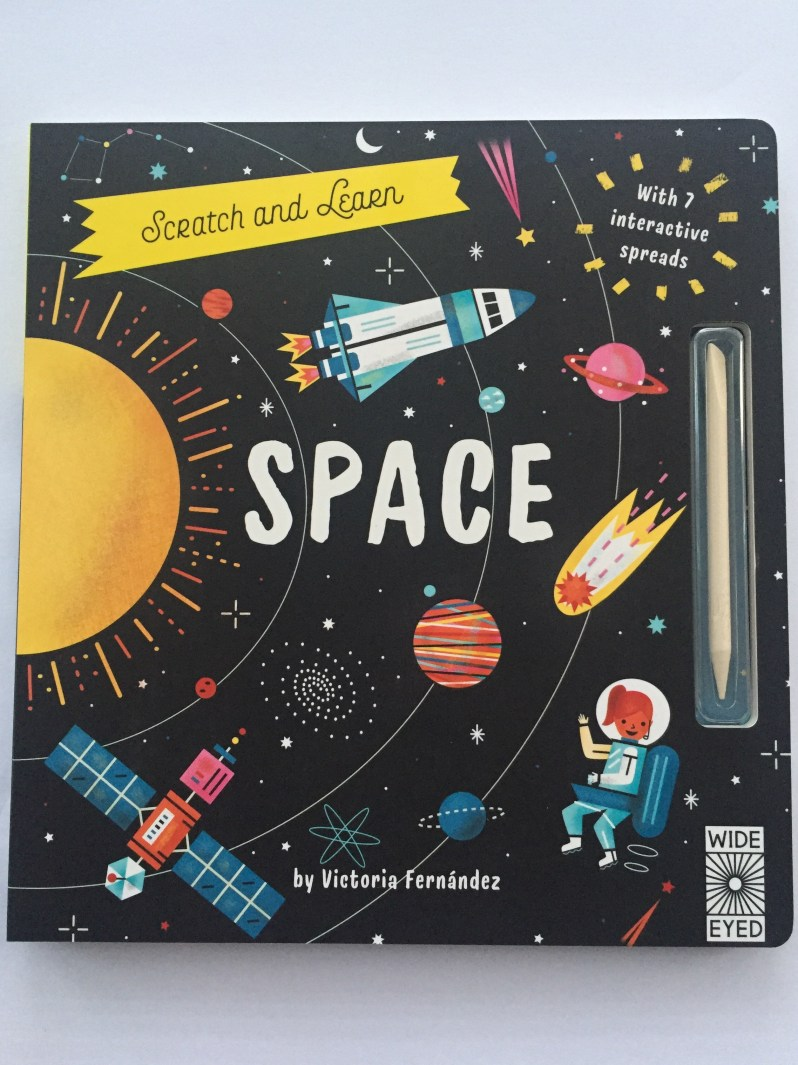 Scratch and learn Space book review MammaFilz.com