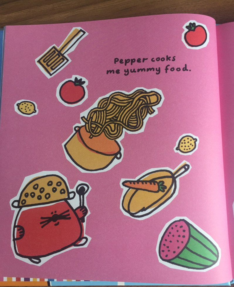 Inside of book My Friends on MammaFilz.com