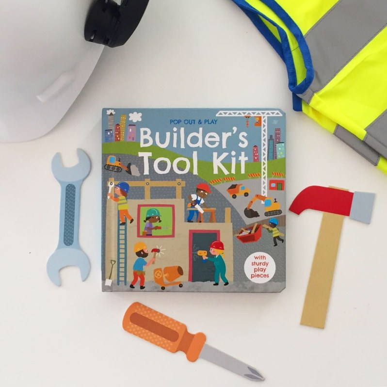 Board book review of builders tool kit on MammaFilz.com