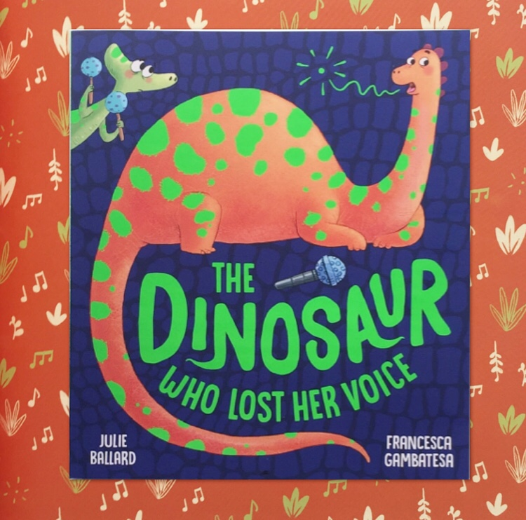 The dinosaur who lost her voice book review on MammaFilz.com