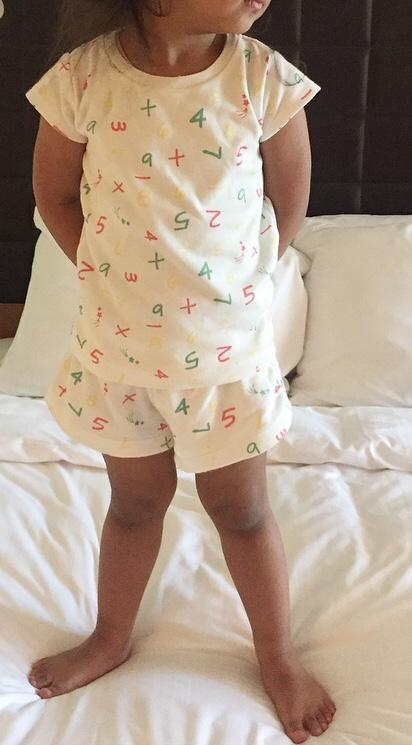 The Girl Element number pyjamas review on mammafilz.com