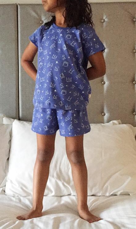 Girl Element pyjamas review on mammafilz.com