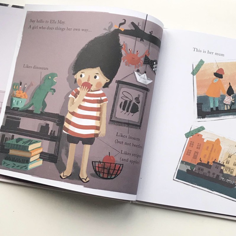 Inside picture book Ella May Does It Her Way