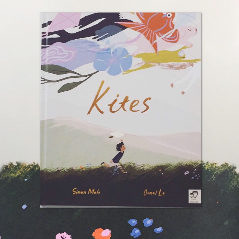 Book review on picture book Kites on MammaFilz.com