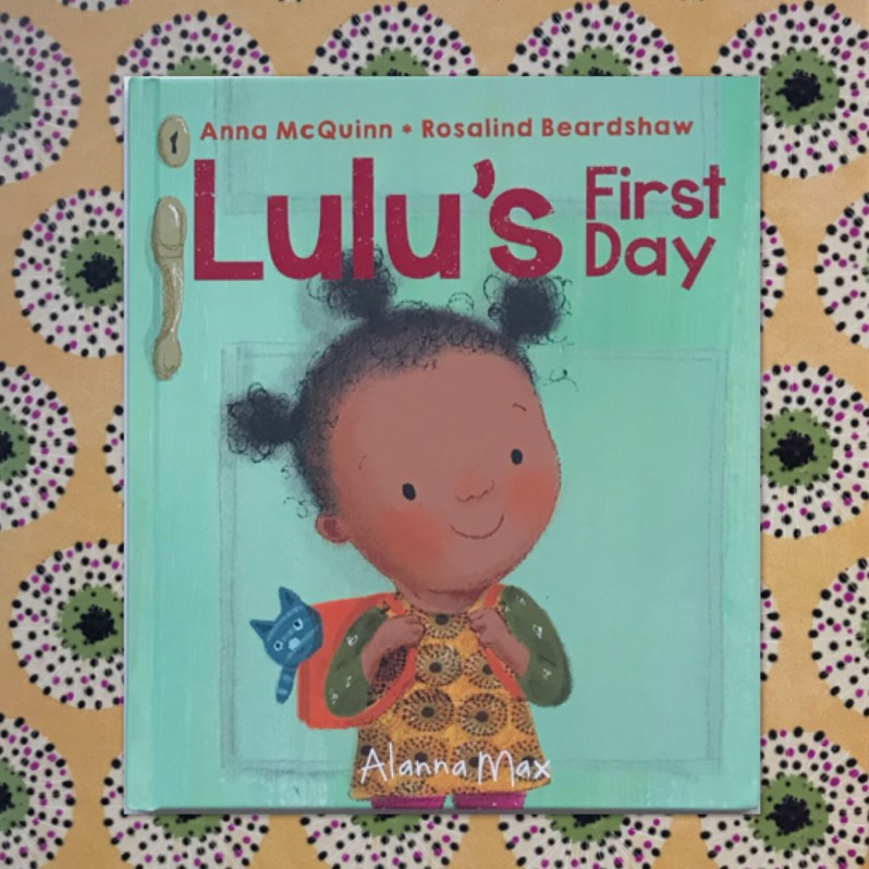 Lulu's First Day Book review on MammaFilz.com