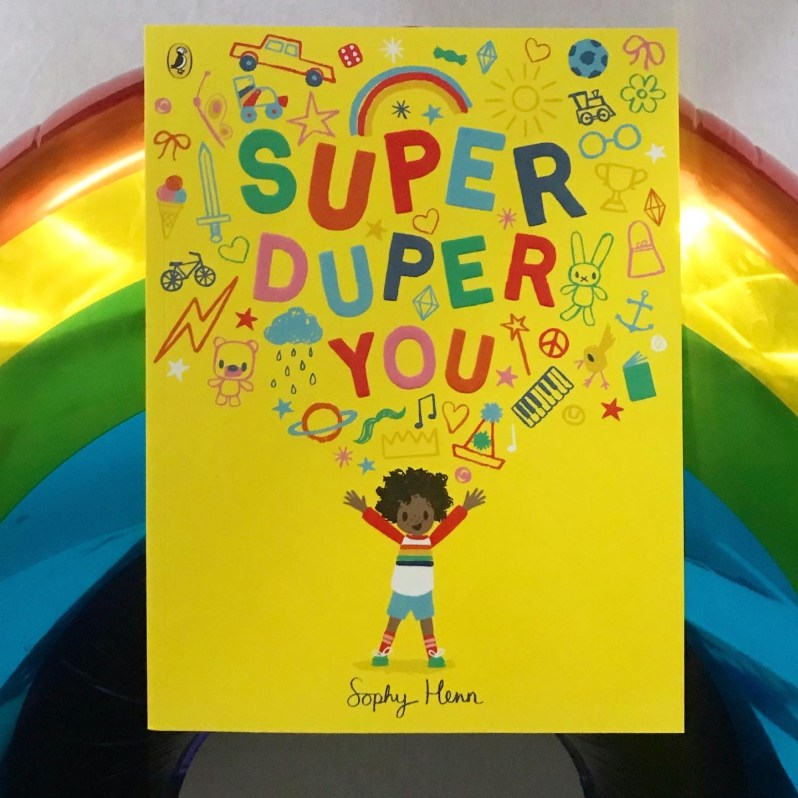 Book review Super Duper You by Sophy Henn.