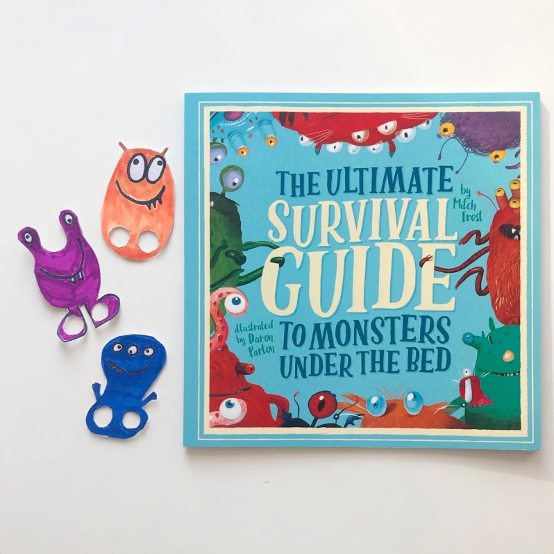 Book review of monsters picture book on mammafilz.com