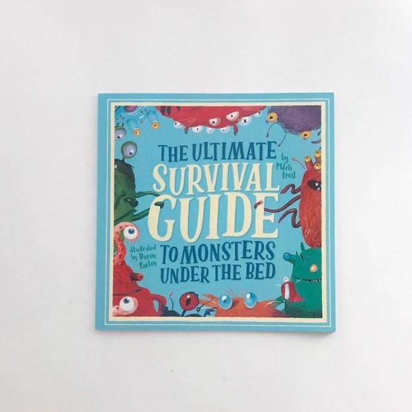 Book review on mammafilz.com of The ultimate Survival Guide to Monsters under the bed