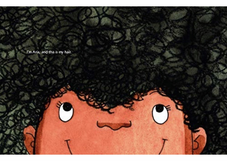Book review of diverse book Don't Touch My Hair on Mammafilz.com