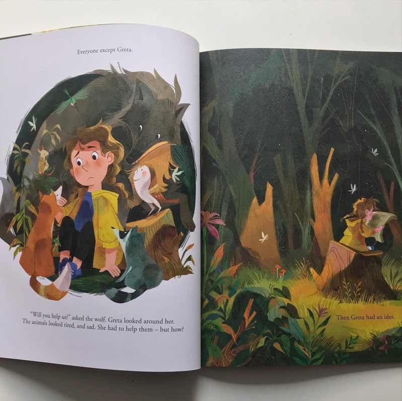 Greta and the giants picture book review on mammafilz.com