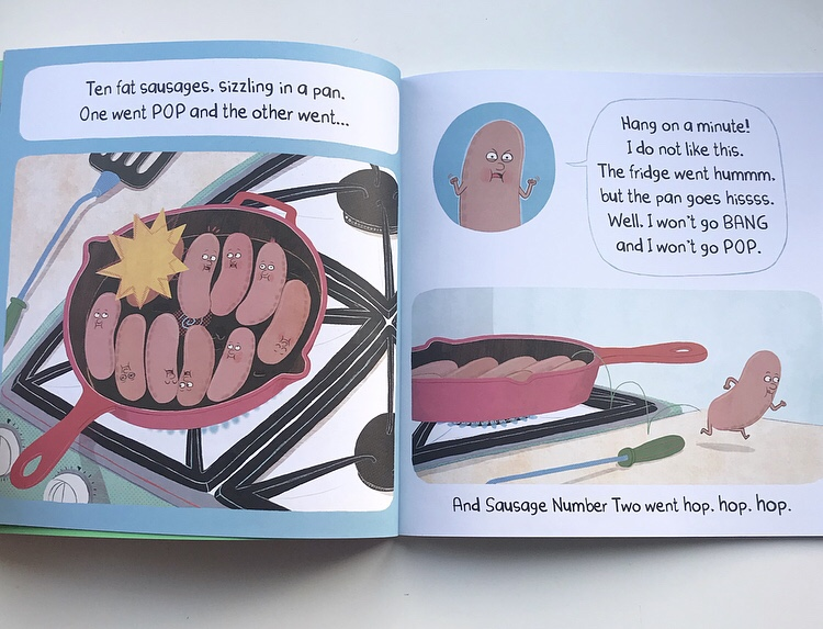 Ten fat sausages book review on MammaFilz.com