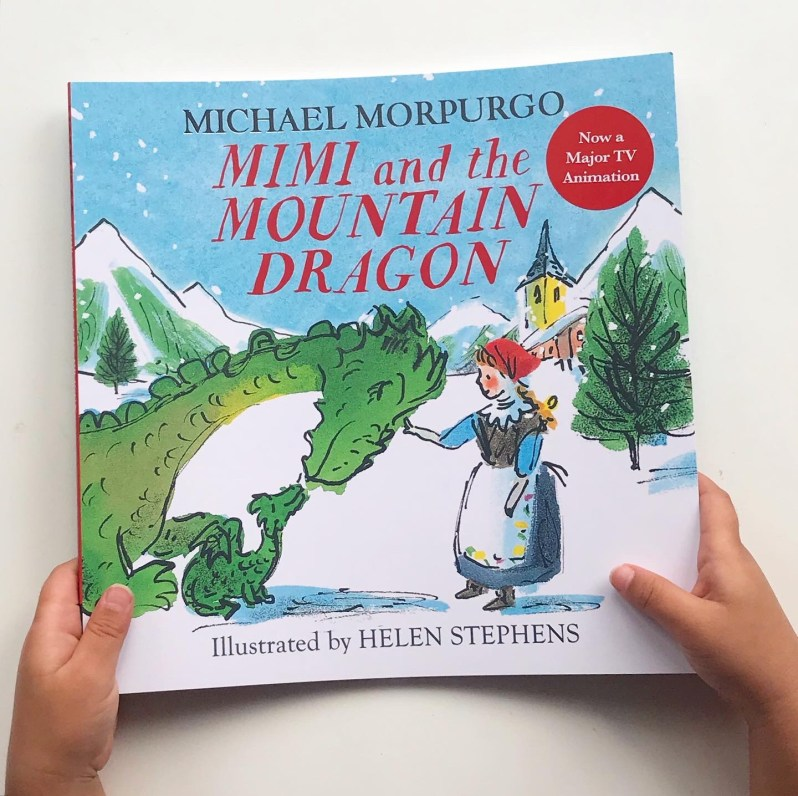 Mimi and the mountain dragon picture book review on MammaFilz.com