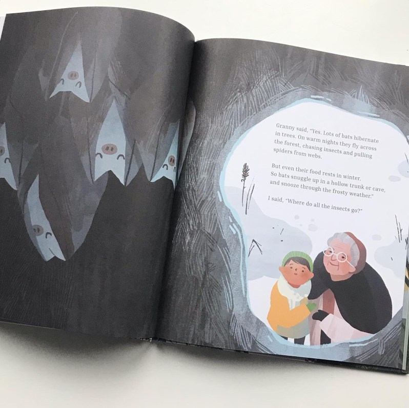 Picture book reeks of winter sleep on mammafilz.com