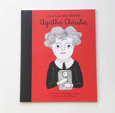 Agatha Christie Little people big dreams Book review on mammafilz.com