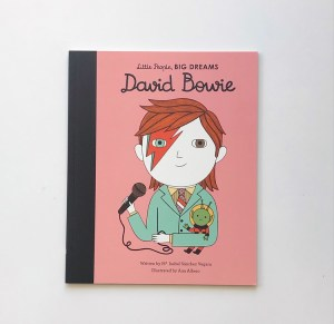 Little People Big Dreams David Bowie book review on mammafilz.com