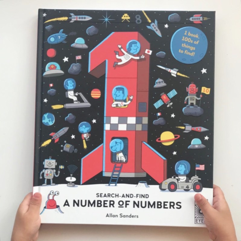 Book review: Search and Find-A number of numbers by Allan Sanders