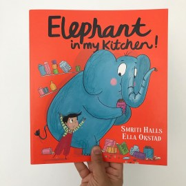 Elephant in my kitchen book review on mammafilz.com