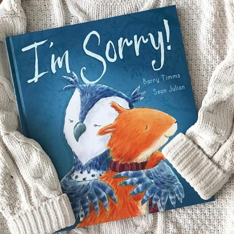 I'm sorry book review on mammafilz.com