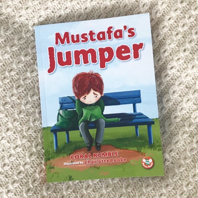 Mustafa's jumper book review on mammafilz.com