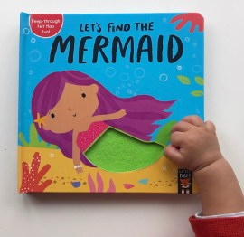 Let's find the mermaid board book on mammafilz.com